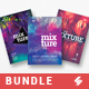 Creative Sound vol6 - Party Flyer Templates Bundle A3 - GraphicRiver Item for Sale