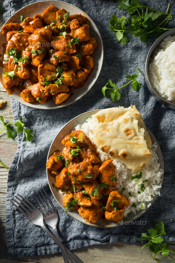 Homemade Chicken Tikka Masala - Stock Photo - Images