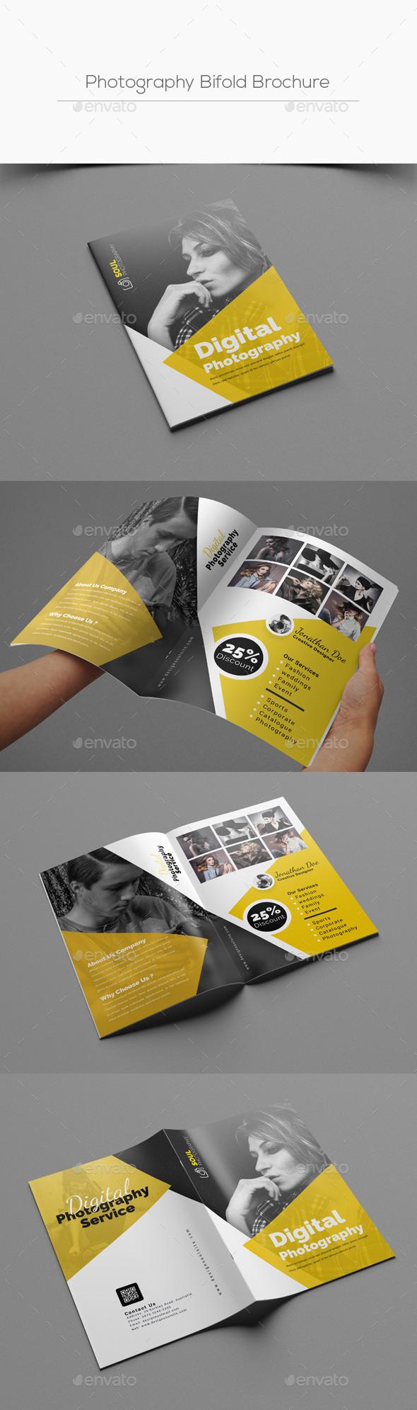 Photography Bifold Brochure - Corporate Brochures