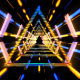 Neon Future Tunnel - VideoHive Item for Sale
