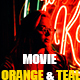 Free Download Movie Orange & Teal Photoshop Action Nulled