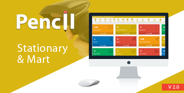 Pencil - The Stationary And Mart Management System - CodeCanyon Item for Sale