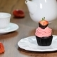 Chocolate Cupcakes with Strawberry Cream - VideoHive Item for Sale