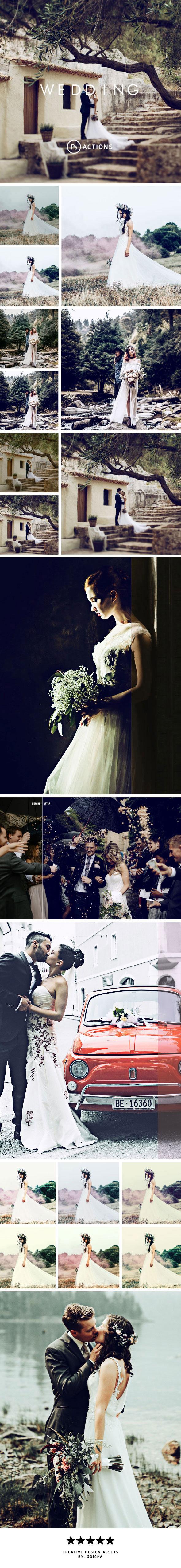 Wedding - Photoshop Actions - Actions Photoshop