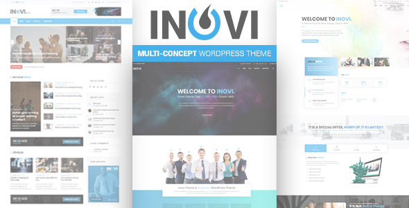 Image of INOVI - Multi-concept WordPress Theme