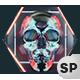 VJ Loops Neon Skull Lights Ver.2 - 3 Pack - VideoHive Item for Sale