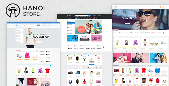 Image of HanoiStore - Supermarket eCommerce Joomla Template