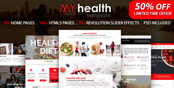 Image of My Health - HTML5 Responsive Multi-Purpose Template