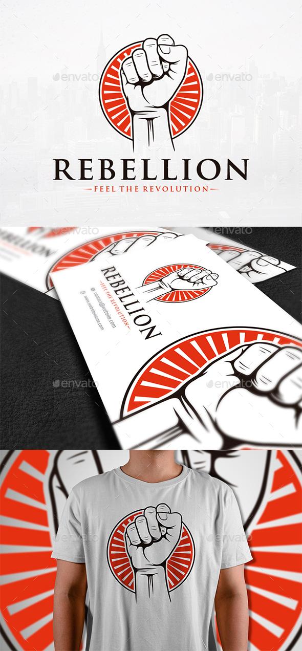 Rebellion Logo Template - Humans Logo Templates