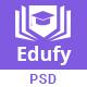 Edufy Education Courses PSD Template