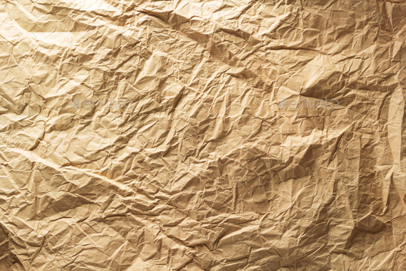 crumpled paper as background - Stock Photo - Images