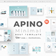 Free Download Apino Minimal Google Slide Template Nulled