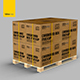 Free Download Cardboard Box Pallet Mockup Nulled