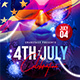 Free Download 4th of July Celebration Flyer Template Nulled