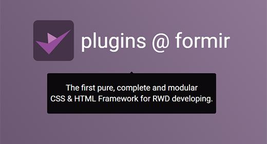 Formir CSS plugins