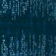 Blue Digital Data Matrix - VideoHive Item for Sale
