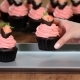 Chocolate Cupcakes with Fresh Strawberries - VideoHive Item for Sale