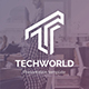 Free Download TechWorld Pitch Deck Multipurpose Powerpoint Template Nulled