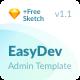 EasyDev — Developer Friendly React Bootstrap 4 Admin Template - ThemeForest Item for Sale