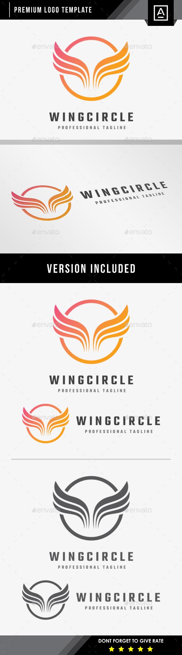 Wing Circle Logo - Symbols Logo Templates
