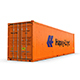 40 feet High Cube Hapag Lloyd shipping container - 3DOcean Item for Sale