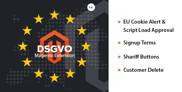 DSGVO / GDPR 4 in 1 Magento 1.9 Extension            Nulled