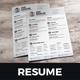 Resume & Cover Letter Design v3 - GraphicRiver Item for Sale
