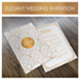 Free Download Elegant Wedding Invitation Template Nulled