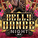 Oriental Belly Dance Night Flyer - GraphicRiver Item for Sale