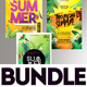 Free Download Summer Flyer Bundle v15 Nulled