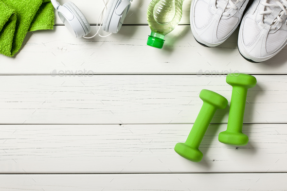 Fitness workout concept  - Stock Photo - Images