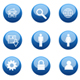 Blue Glossy Icon - GraphicRiver Item for Sale