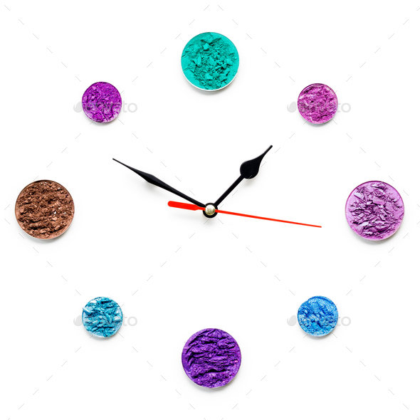 Cosmetic clock. - Stock Photo - Images