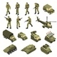 Army Isometric Icon Set - GraphicRiver Item for Sale