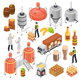 Brewery Isometric Set