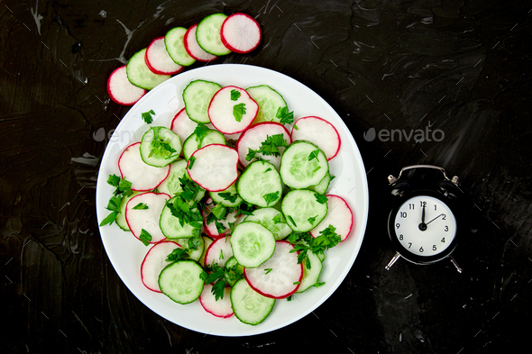 Time to eat. - Stock Photo - Images