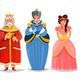 Fairy Persons Cartoon Set