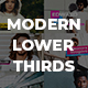 Modern Lower Thirds Pack - VideoHive Item for Sale