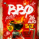 BBQ Party Flyer Template - GraphicRiver Item for Sale