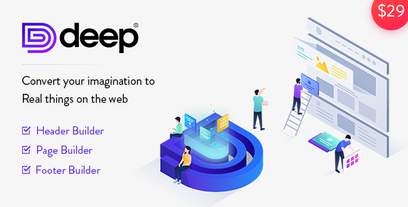 Deep - Creative Multi-Purpose WordPress Theme