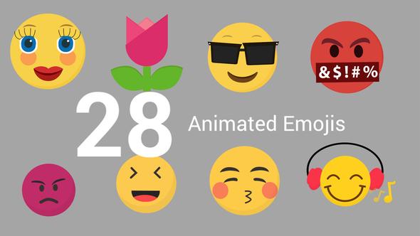 28 Emojis