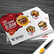 Restaurant Post Card Design - GraphicRiver Item for Sale