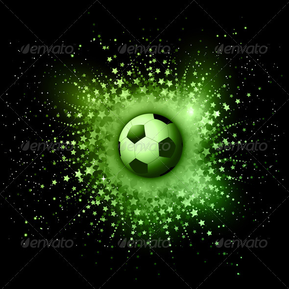 Football Background - Sports/Activity Conceptual