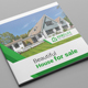 Real Estate Square Bifold Brochure