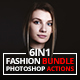 6 IN 1 Fashion Bundle Photoshop Actions - GraphicRiver Item for Sale