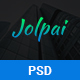 Jolpai - One page portfolio PSD Template - ThemeForest Item for Sale