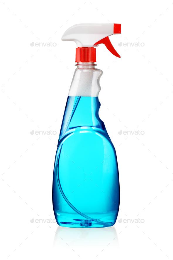 Spray bottle isolated - Stock Photo - Images