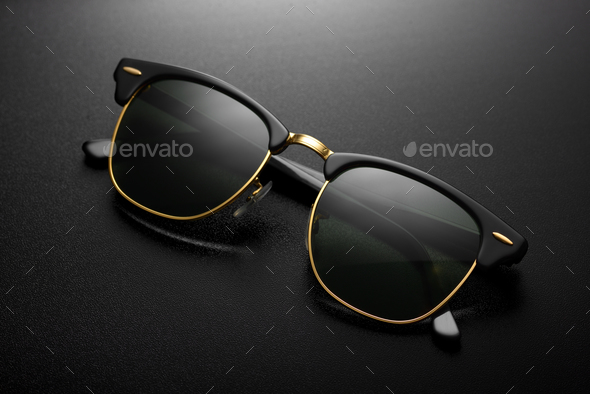 Aviator sunglasses isolated - Stock Photo - Images