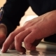 Men's Hands . Man Engaged with Paperwork - VideoHive Item for Sale