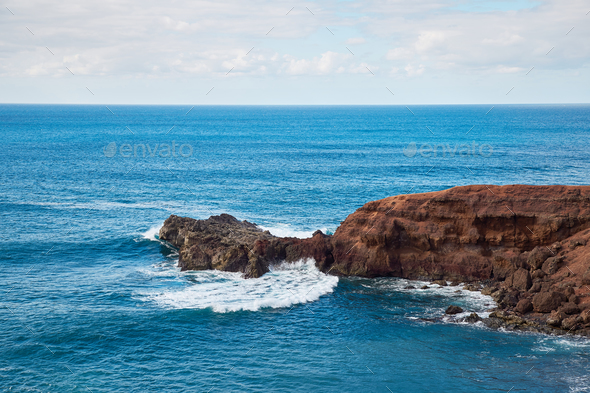 waves of Atlantic ocean - Stock Photo - Images
